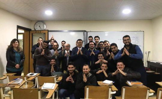 kuliah singkat pada mahasiswa MLC