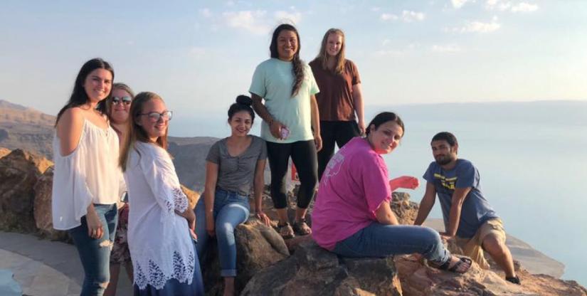 Texas Tech University in Amman Jordan Panorama Dead Sea Modern Language Center 2018