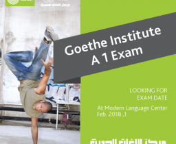 Goethe Institute Exams