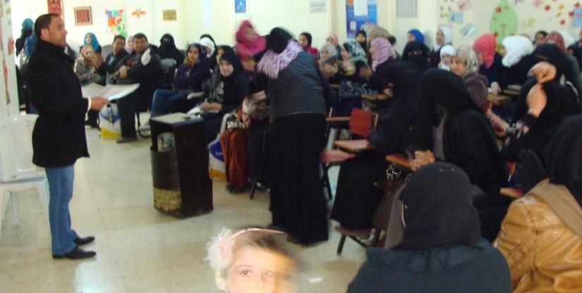 refugee program European Union 2019 Modern Language Center Amman Jordan Mr. Faris Awad Director