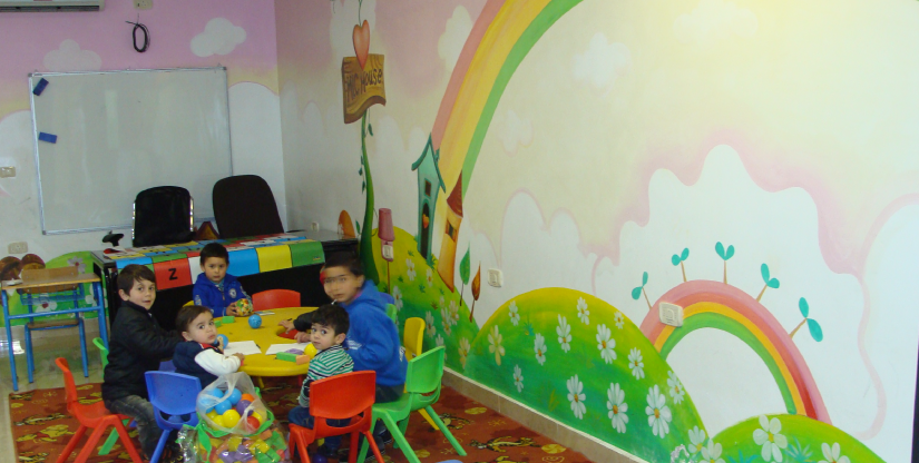 baby daycare Refugee training program - Caritas Jordan Modern Language Center