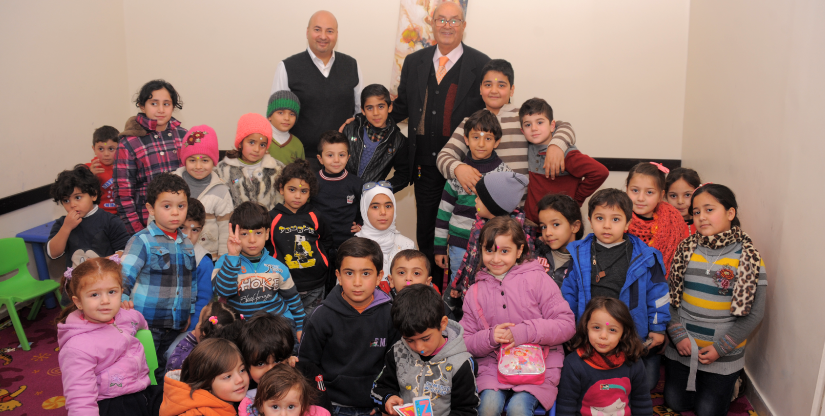 Babysitting Refugee training program Caritas Jordan Modern Language Center 2019