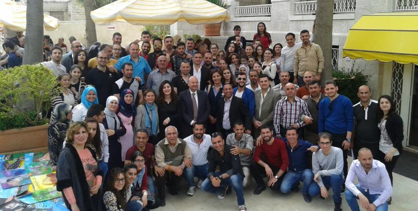 refugee program European Union 2019 Modern Language Center Amman Jordan Care