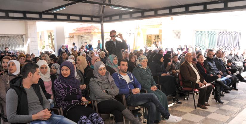 refugee program European Union 2019 Modern Language Center Amman Jordan Hanan Oweis