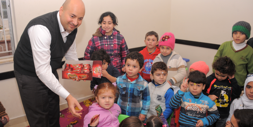 kindergarten Refugee training program Caritas Jordan Modern Language Center 2019