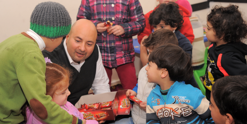 kindergarten Refugee training program Caritas Jordan Modern Language Center 2019