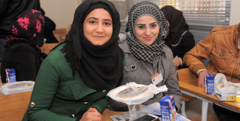 Refugee training program - Caritas Jordan Modern Language Center