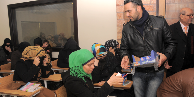 Refugee training program - Caritas Jordan
