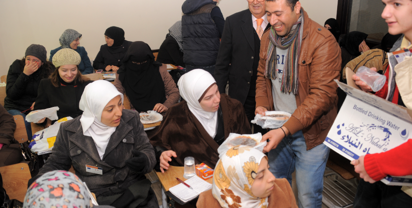 Refugee training program English Courses