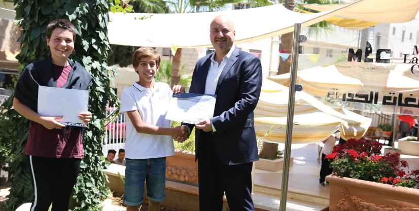 German School students 2019 Faris Awad