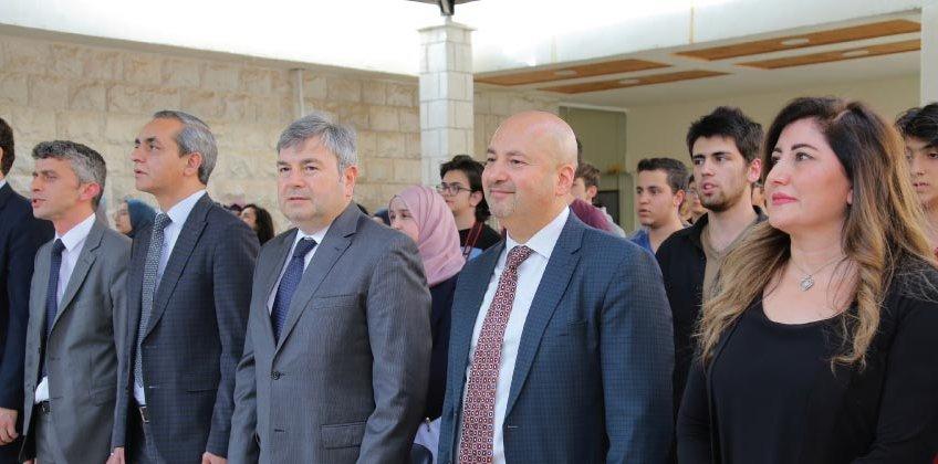 دورات اللغة التركية حفل تخريج السفير التركي