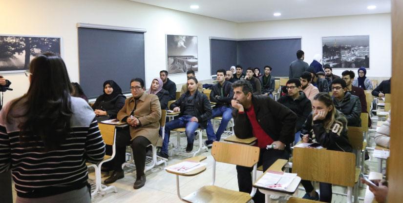 دورات اللغة التركية فحص اليوس YOS