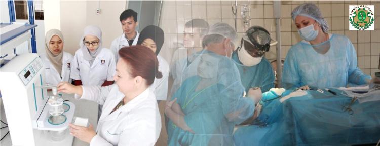 Volgogradskaya Meditsinskaya Akademiya (جامعة فولغوغراد الطبية الحكومية) مركز اللغات الحديث مكتب mlb للدراسة في الخارج دراسة الطب والصيدلة الاسنان